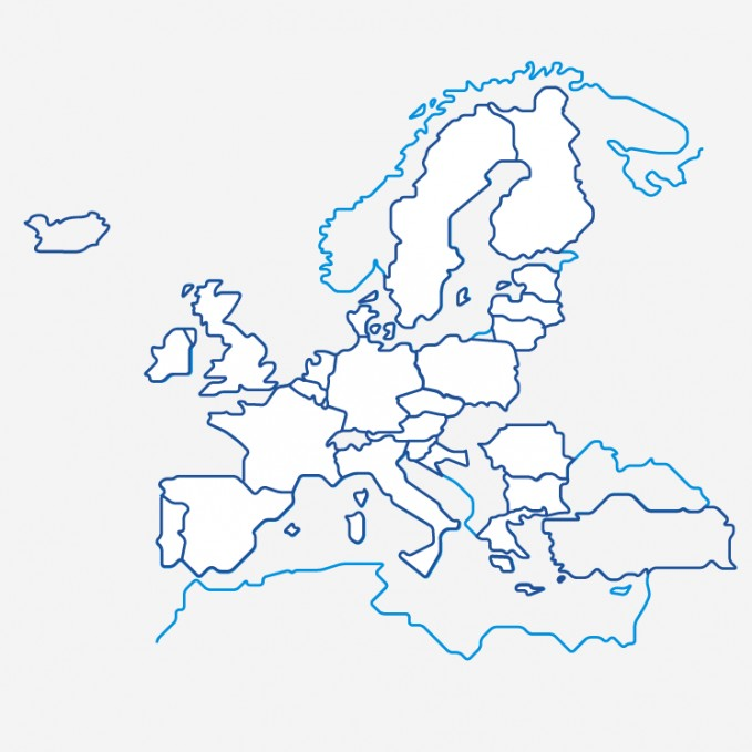 European Flour Millers Members Map of Europe